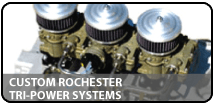 Custom Rochester Tri-Power Systems
