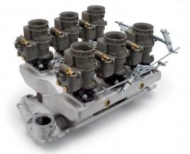 Edelbrock X-1 6-Deuce 94s - Fully Assembled System