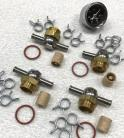 "Rochester 2GC - 7/8""-20 Banjo Fittings - 4 Carburetor Set"