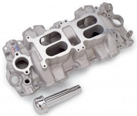 "New Edelbrock #5409 - 2x4 348"" 409"" Chevy Intake Manifold"