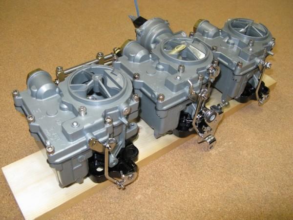Parts Of A Car 94 >> n.o.s. New rochester tri-power carbs carburetors electric ...