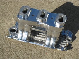 "Show Polished ""WILD THING"" - Small Block Chevy - 3-Deuce Tunnel Ram"