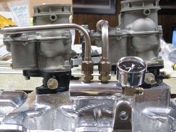 HotRodCarbs_ _Edelbrock94_Fuel_Lines.600 hot rod carburetors custom tri power carburetors (powered by
