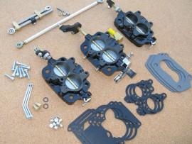 "Rochester Tri-Power Base Plates & Progressive Linkage ""Basic Kit"""