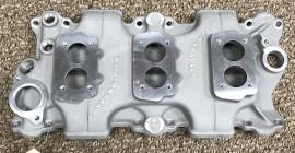 Offenhauser #5254 - SBC Low Profile 3-Deuce Intake
