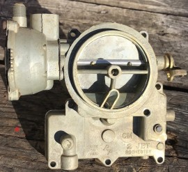 Rochester Carburetor Air Horn - Front Fuel Inlet - Small Base 2-Jet