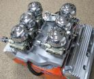 SOLD - Edelbrock X3 - Early Chrysler HEMI - 6-Deuce Cross Ram