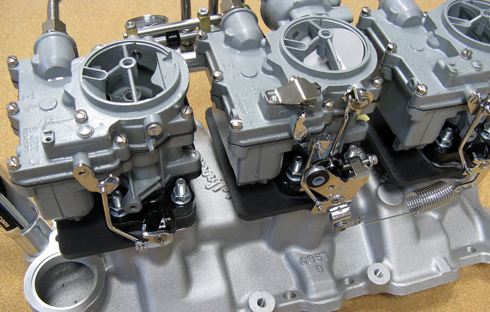 Hot Rod Carburetors - Custom Tri-Power Carburetors
