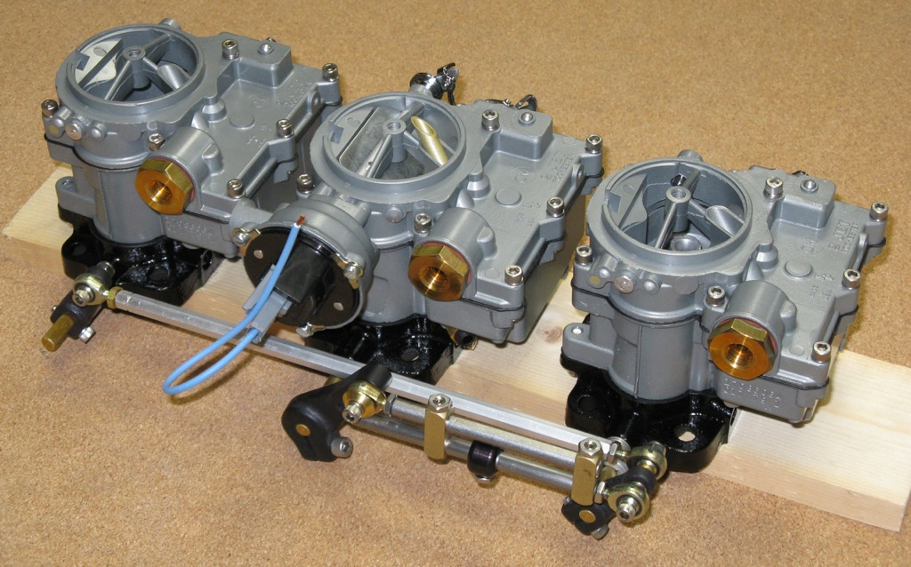 n o s  New rochester tri-power carbs carburetors electric