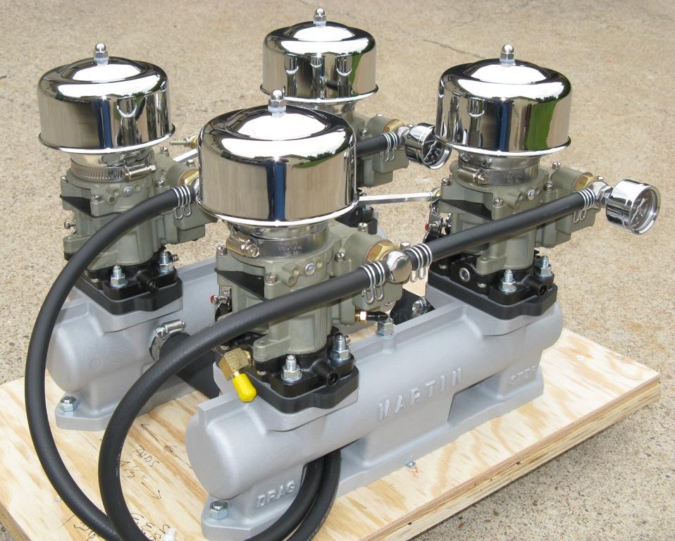 Buick Tri-Power Carburetors - Hot Rod Carburetors: Rochester