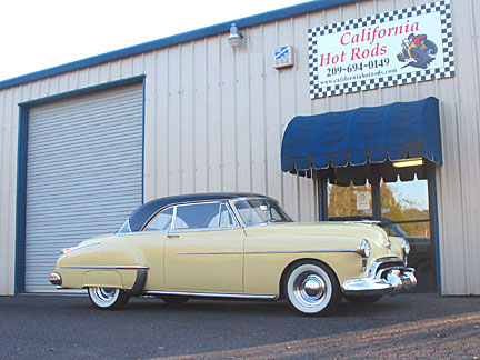 Mike Cunha - '50 Olds HardTop - built by California Hot Rods