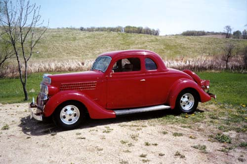 Curt Hogenson '35 Ford Coupe