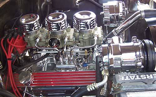 Bob Abbott 3-Deuce Small Block