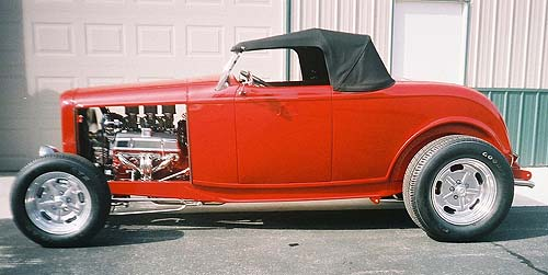 Eddy Gutsch Pogo Built 'Red Rocket'