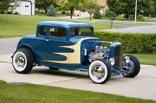 Rich 'Fuel Pump' Gibbs 32 Ford Coupe