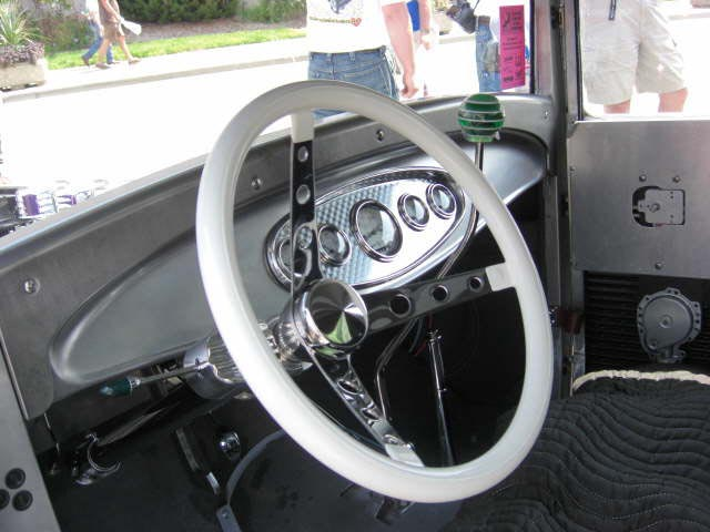Hervatin's hand made dash and inner doors