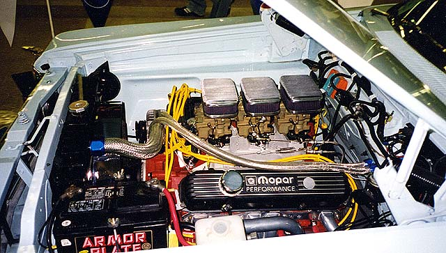 "Joe DeSalvo 413"" Mopar with 3-Deuce OFFY Intake"