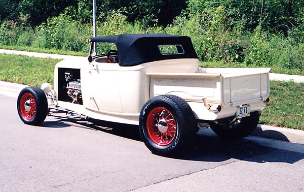 "Phil Hahn '32 Roadster PU ""Out House Engineering Built"""
