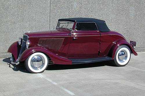 "Steve Frisbe Owner of ""Real Steel"" '33-'34 Fords"