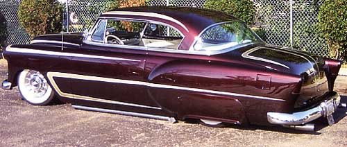 "Roy Kucia Jr. ""Slammed & Scalloped"" 53 Chev"