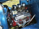 Hot Rod Tri-Power<br>with Corvette Valve Covers<br>That's Ol School!