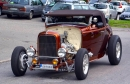 "Sven Grenholm<br>( from Sweden )<br>348"" Chevy W-Motor<br>Metallic Rootbeer<br>'32 Roadster"