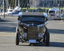 Chopped Top<br>Distinctive Grill<br>Finned Aluminum Brake Drums equal an Unmistakable<br>Hot Rod Look