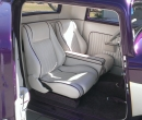 Custom Pearl White Interior<br/>with Purple Pipping & Carpet