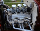 "348"" Chevrolet W-Motor<br/>Rochester Tri-Power in<br/>Hot Rod Silver Carbs"