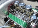 Small Block 283 Show Chromed 3x2 Intake and Headers