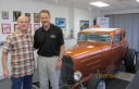 Rick & Myself in the showroom at Vintage Air