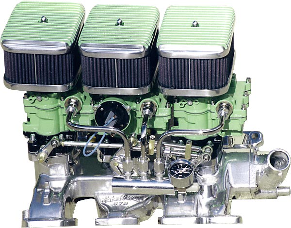 Ford - Lincoln Tri-Power Carburetors - Hot Rod Carburetors