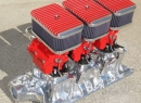 Small Block FORD Complete 'Custom' System w/ Cerma Krome intake coating All Options are available
