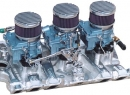 1966 Olds O.E.M. Tri-Power Cast Iron Intake w/ Cerma Krome coating Please go to the PARTS - Air Filters page to view ALL