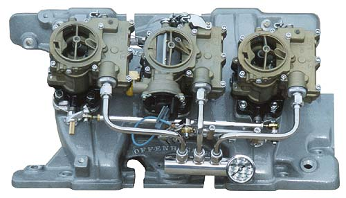 Pontiac Tri-Power Carburetors - Hot Rod Carburetors