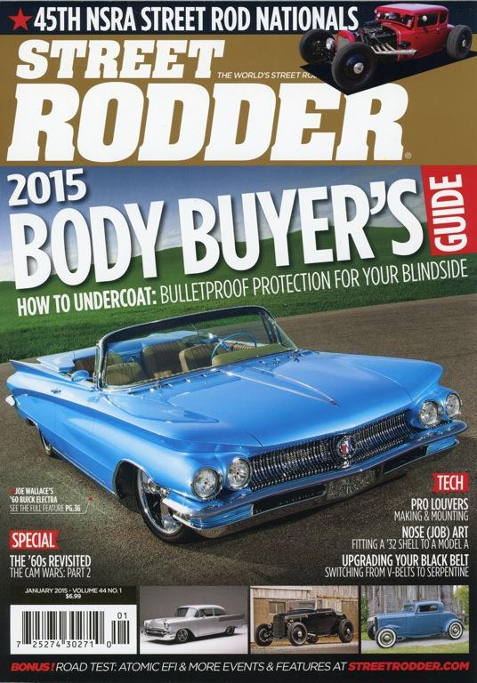 Street Rodder Magazine<br>January 2015
