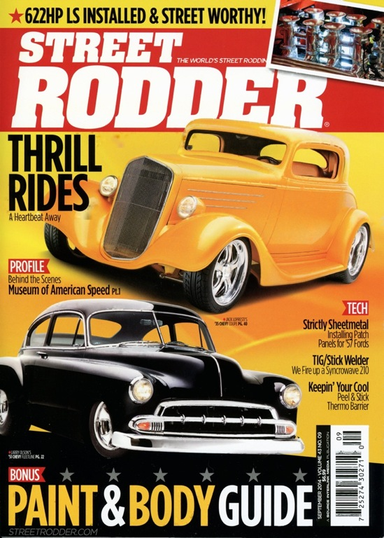 Street Rodder Magazine<br>September 2014