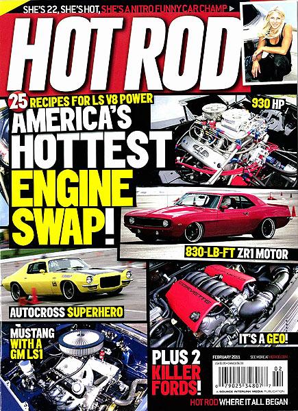 Hot Rod Magazine<br>February 2011
