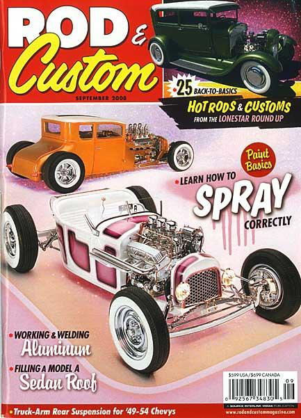 Rod & Custom Magazine<br>September 2008