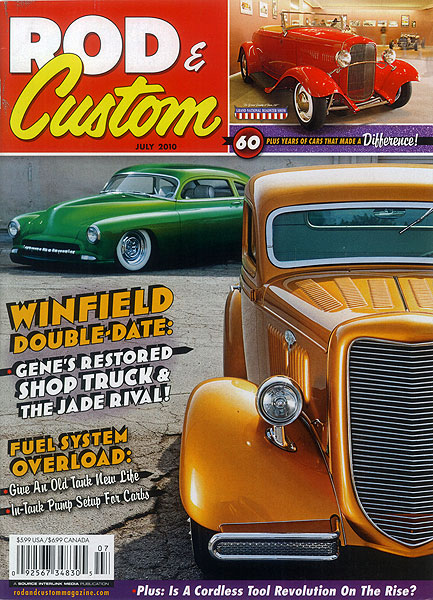 Rod & Custom Magazine<br>July 2010
