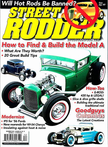 Street Rodder Magazine<br>December 2010