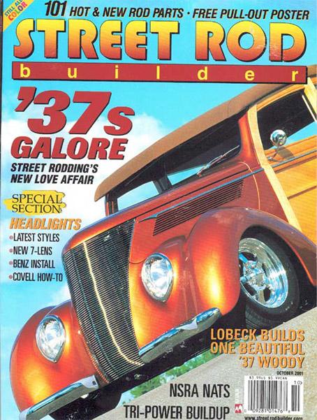 Street Rod'Builder October 2001