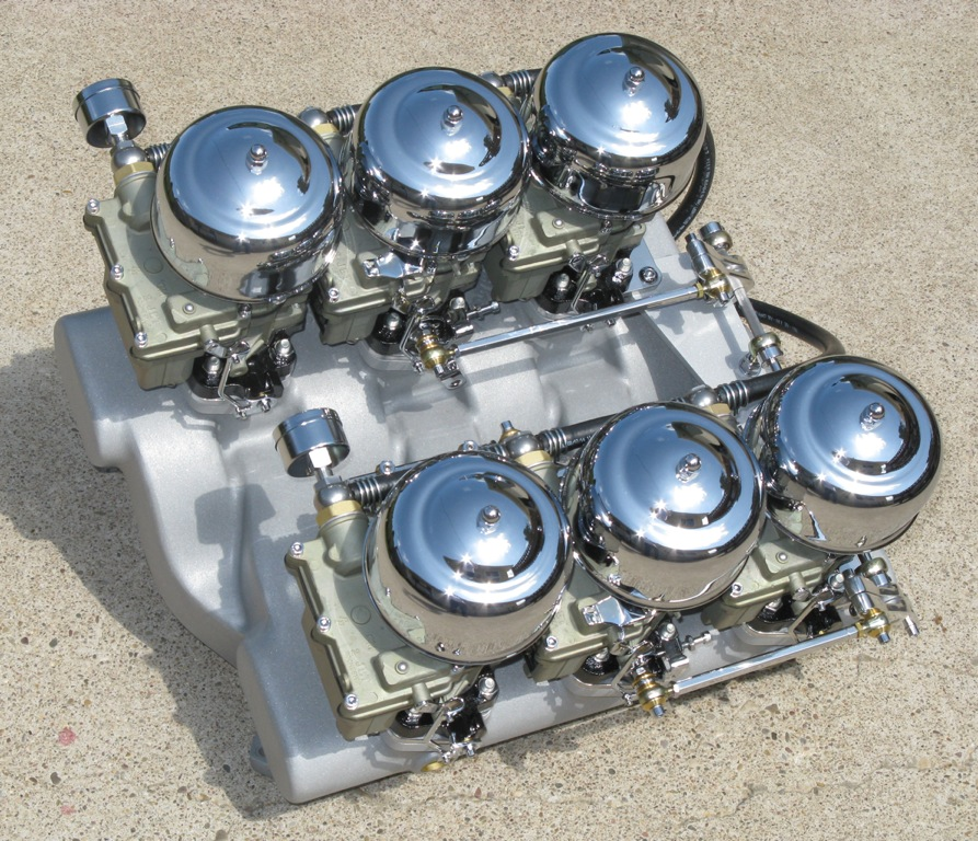 3 deuces carb/intake gto for sale