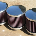 "Air Filters 4.5"" Diam. Smooth Tops K&N Filters Std. Please go to the PARTS - Air Filters page to view ALL"