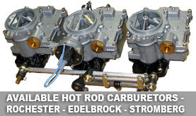 Rochester Tri-Power Carburetors