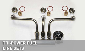 Rochester Tri-Power Fuel Line Sets