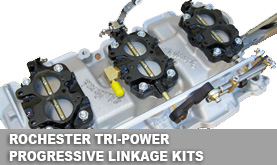 Rochester Tri-Power Progressive Linkage Kits