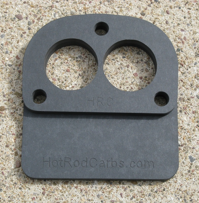 Stromberg-97 Carb Spacer and Heat Shield
