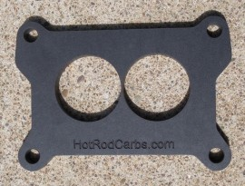 """Holley 2300 - Carb Spacer - 1/4"""" Thick - Heat Insulating"""