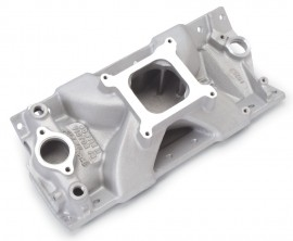 Edelbrock 2976 Victor Jr. 4X4 Small Block Chevy Intake